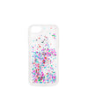 glitter bomb iphone case - confetti