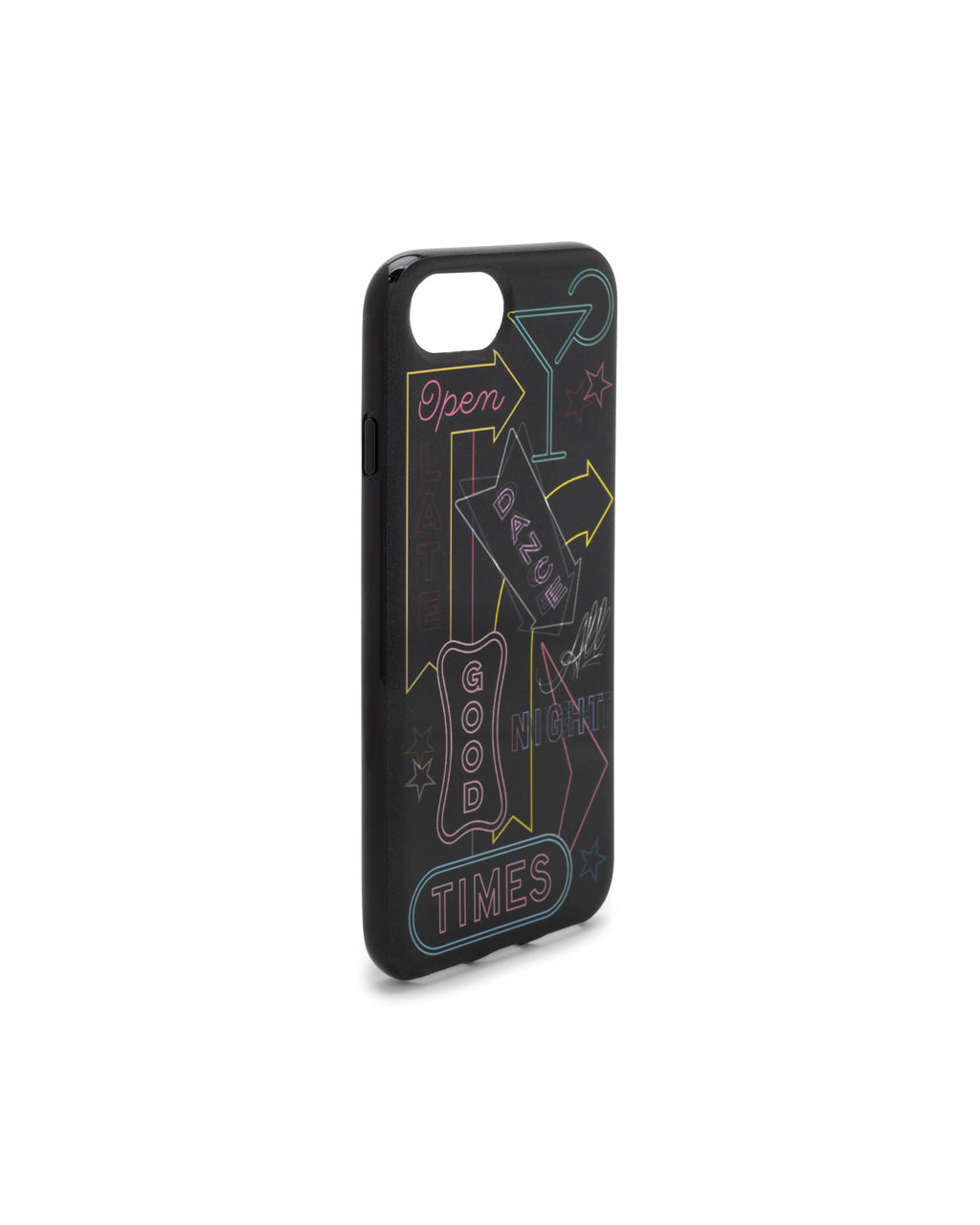 Side view of phone case