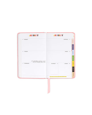 2018-2019 classic 13-month academic planner - garden party