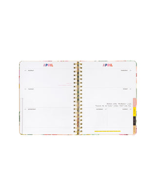 2018-2019 large 13-month academic planner - pearlescent
