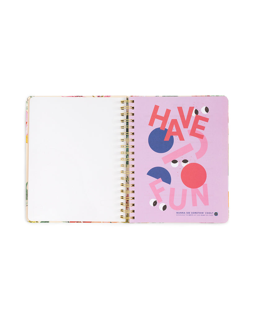 2019 large 12-month annual planner - bellini