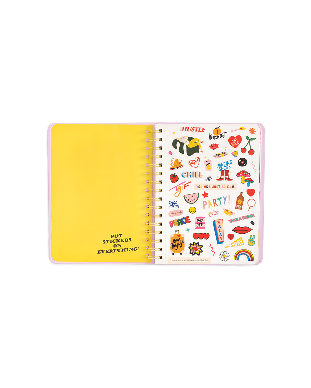 2018-2019 medium 13-month academic planner - garden party by ban.do ...