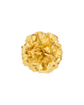 shopthelook_pom pom flower - gold