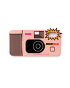 silicone iphone case shaped link a pink disposable camera