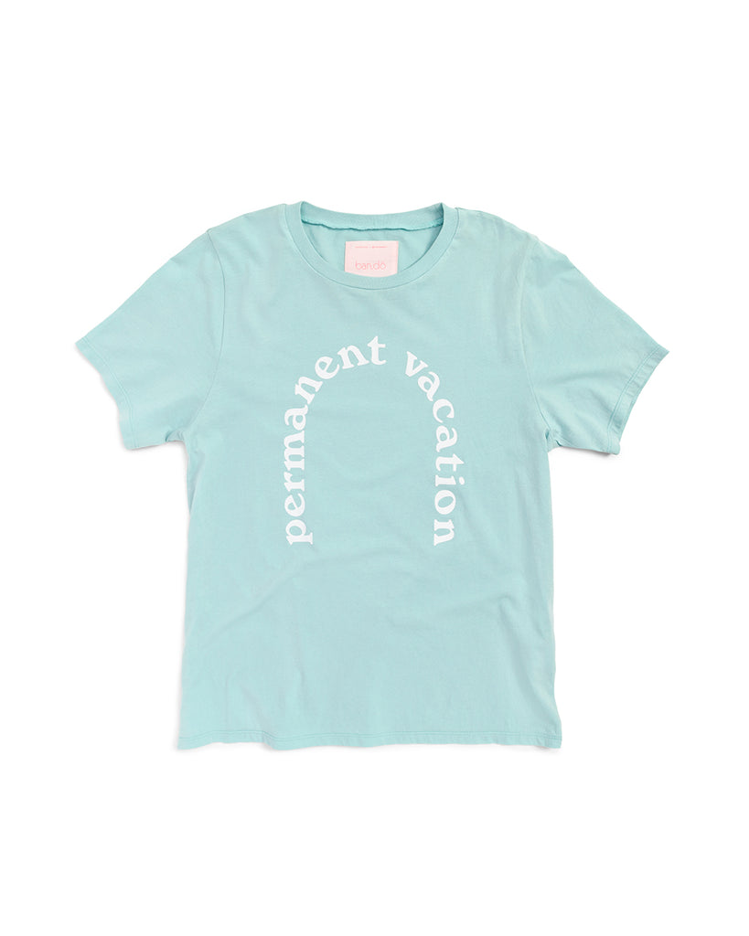 Permanent Vacation Tee - Chlorine