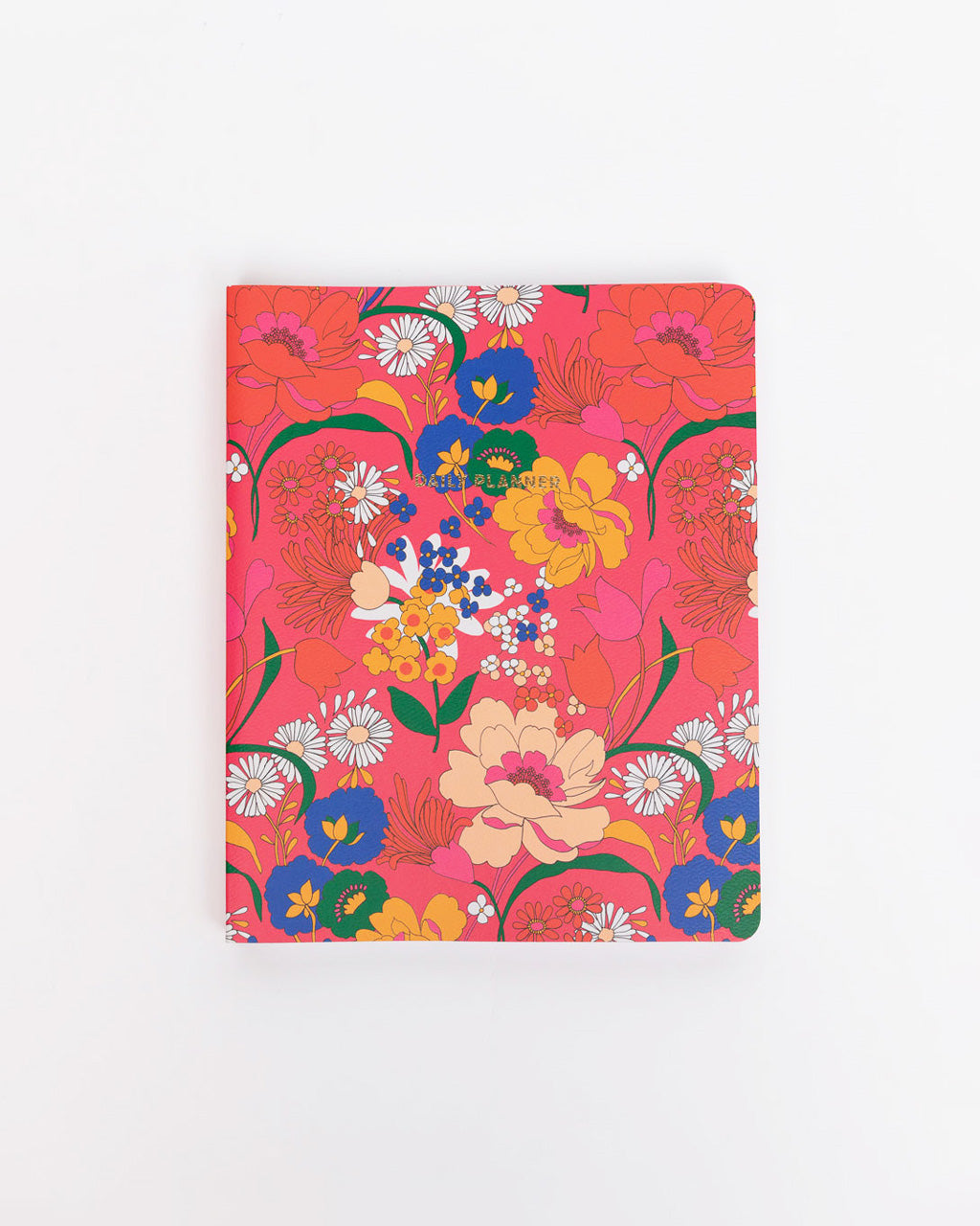 pink super bloom to-do planner cover
