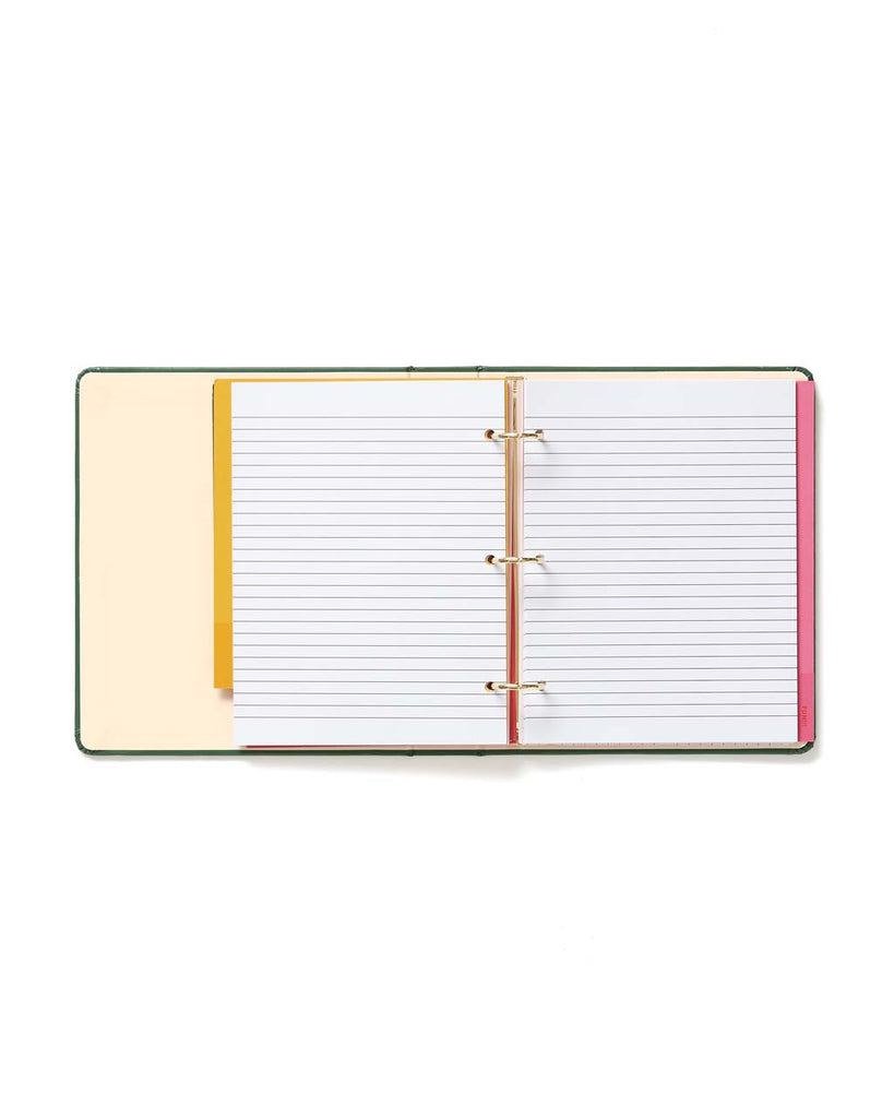 blank lined notes pages