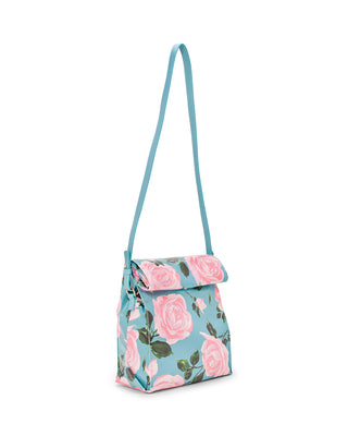 what's for lunch? crossbody bag - rose parade