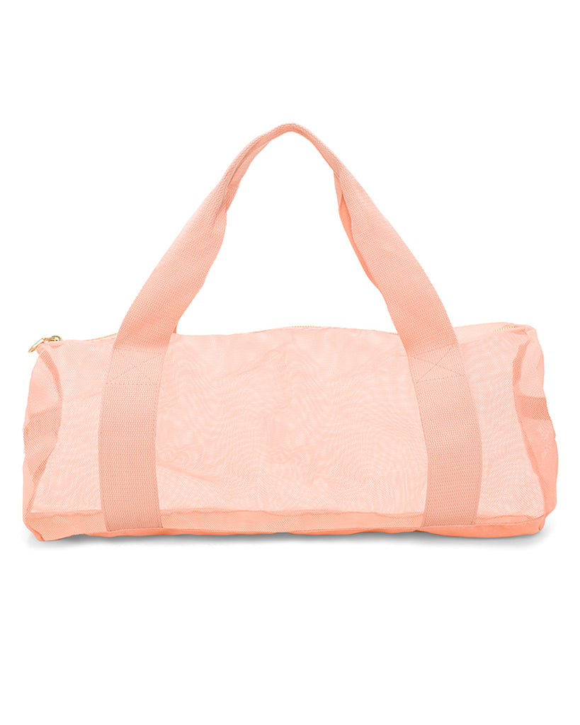 work it out gym bag - sunshine