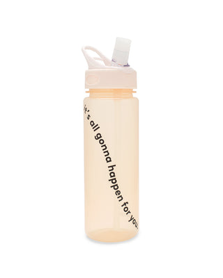 work it out water bottle - gonna happen for you