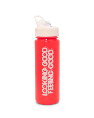 work it out water bottle - looking good feeling good