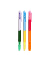This highlighter set comes in six bright rainbow colors.