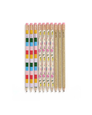 Write on Pencil Set - Coming up Roses