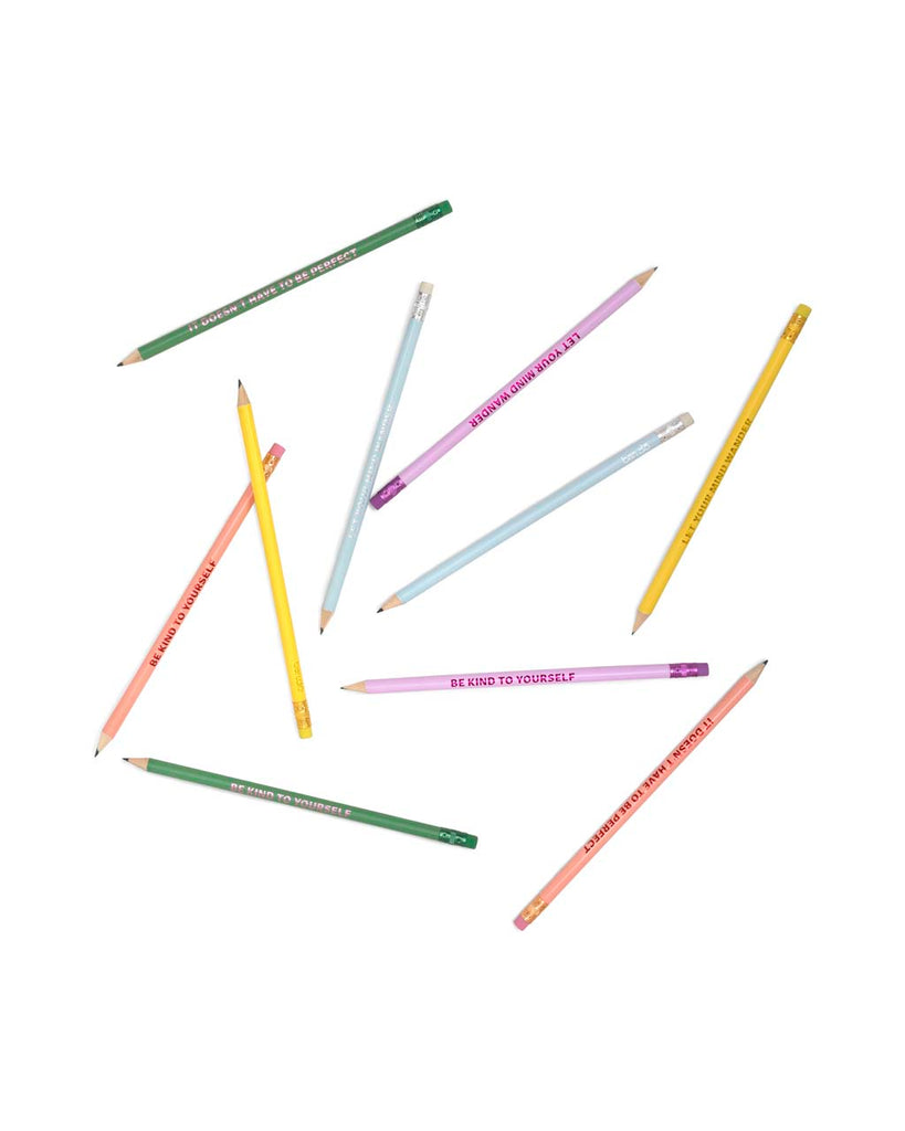 Write On Pencil Set - Take Care