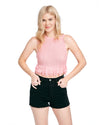 This top by Rachel Antonoff comes in bubble-gum pink.