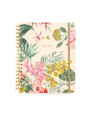 large 13-month planner - paradiso