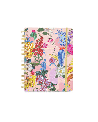 2018-2019 medium 13-month academic planner - garden party