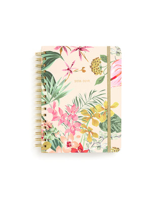 medium 13-month planner - paradiso