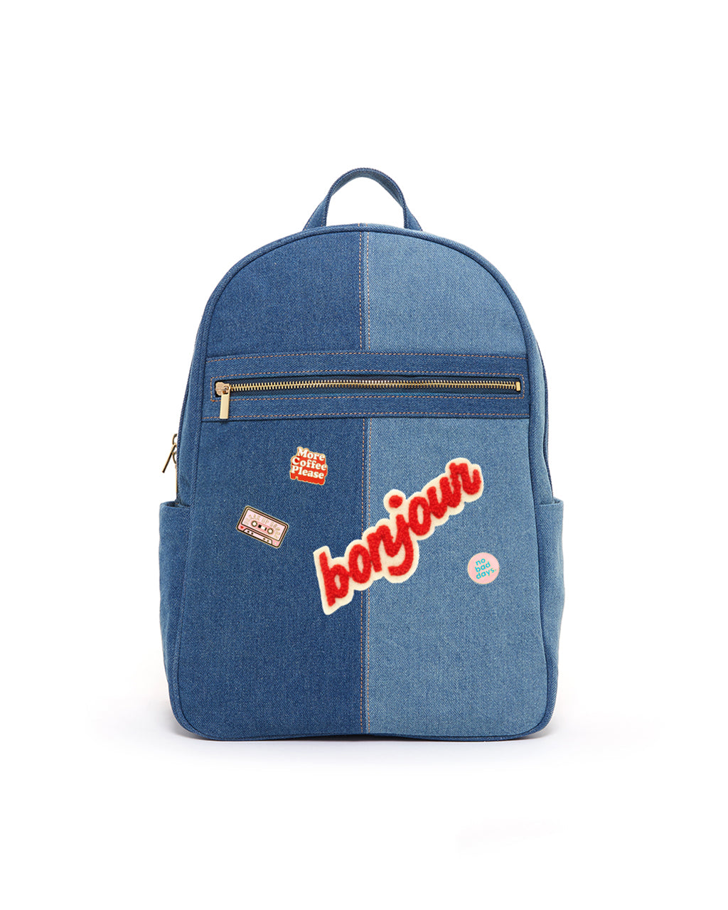 deck out a backpack bundle - denim/flair
