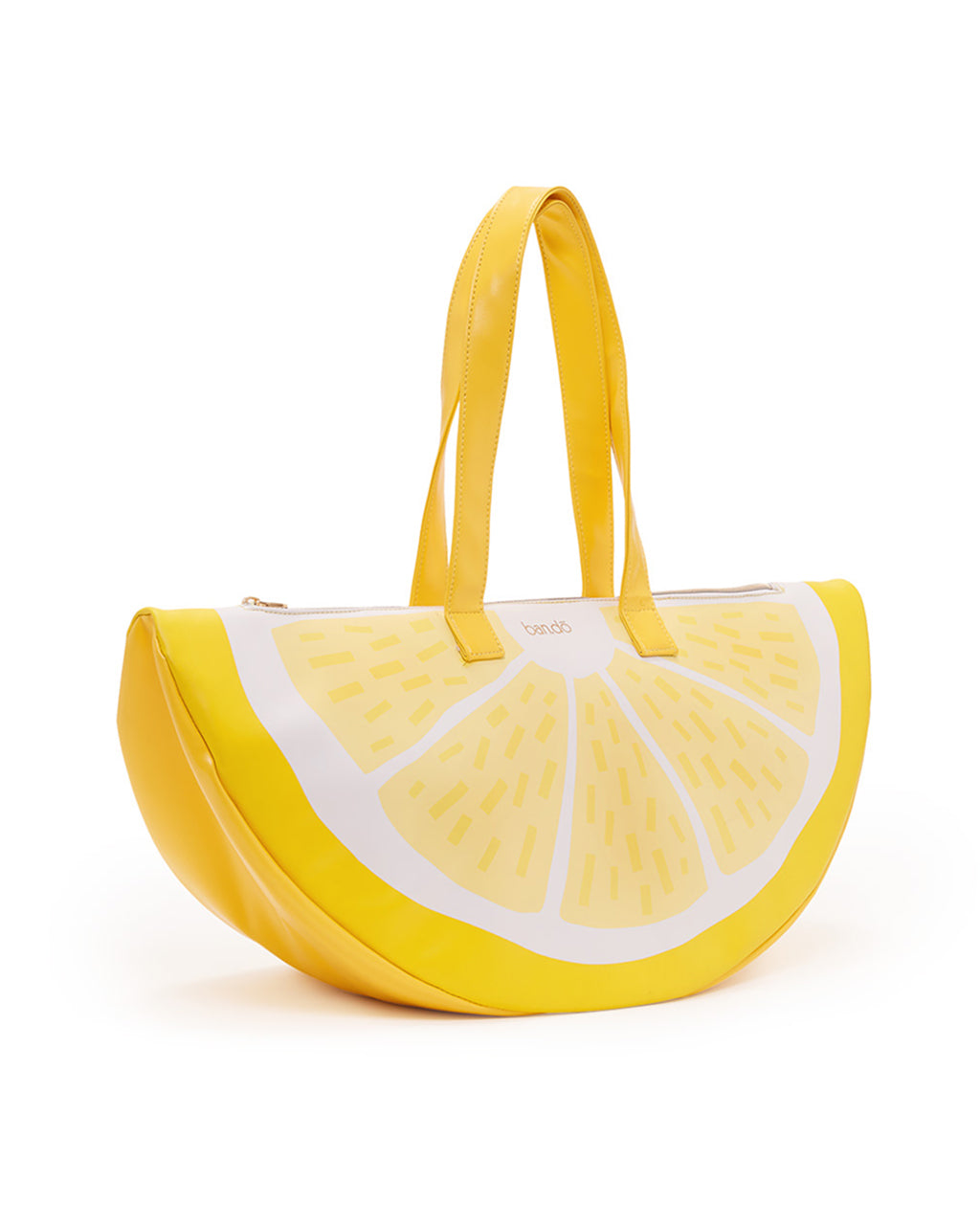super chill cooler bag - lemon