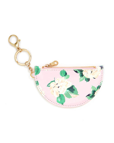 zip zip keychain with pouch - lady of leisure