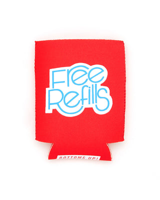 too cold to hold drink sleeve - free refills