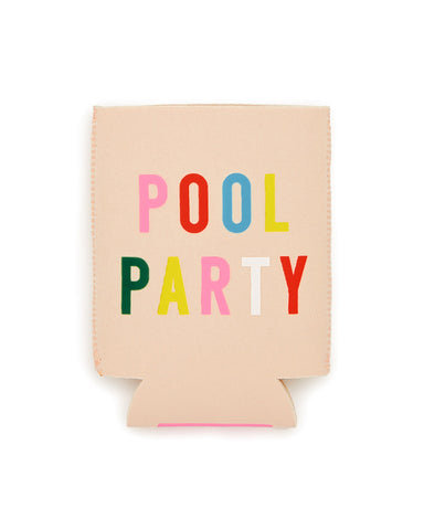 too cold to hold drink sleeve - pool party