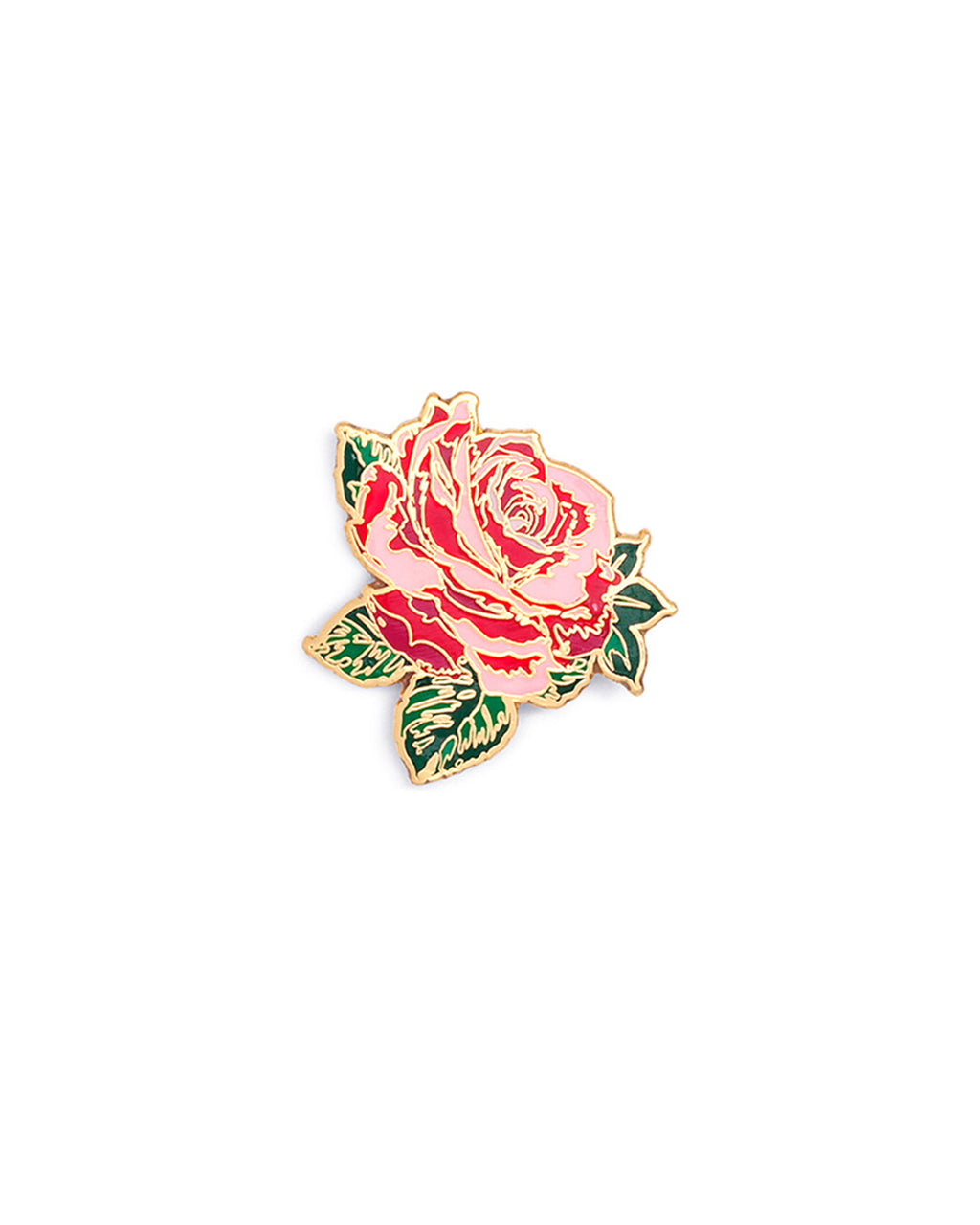 enamel pin - will you accept this rose?