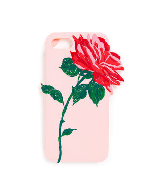 silicone iphone case - will you accept this rose?
