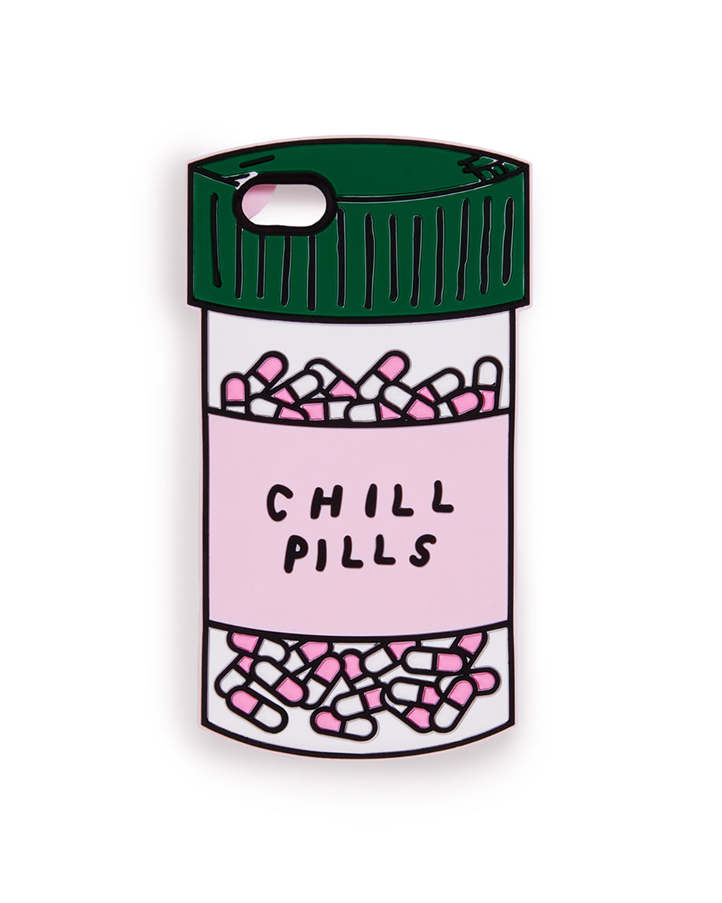 silicone iphone case - chill pills