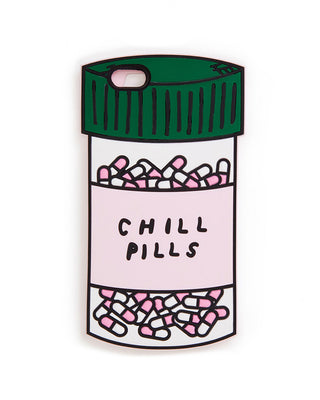 silicone iphone 6/6s plus case - chill pills