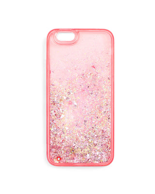 glitter bomb iphone 6/6s case - pink stardust