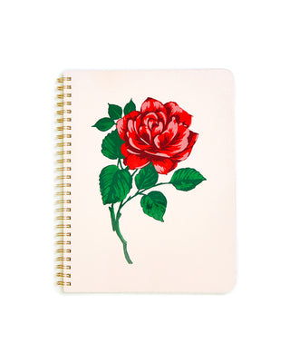 rough draft mini notebook - will you accept this rose?