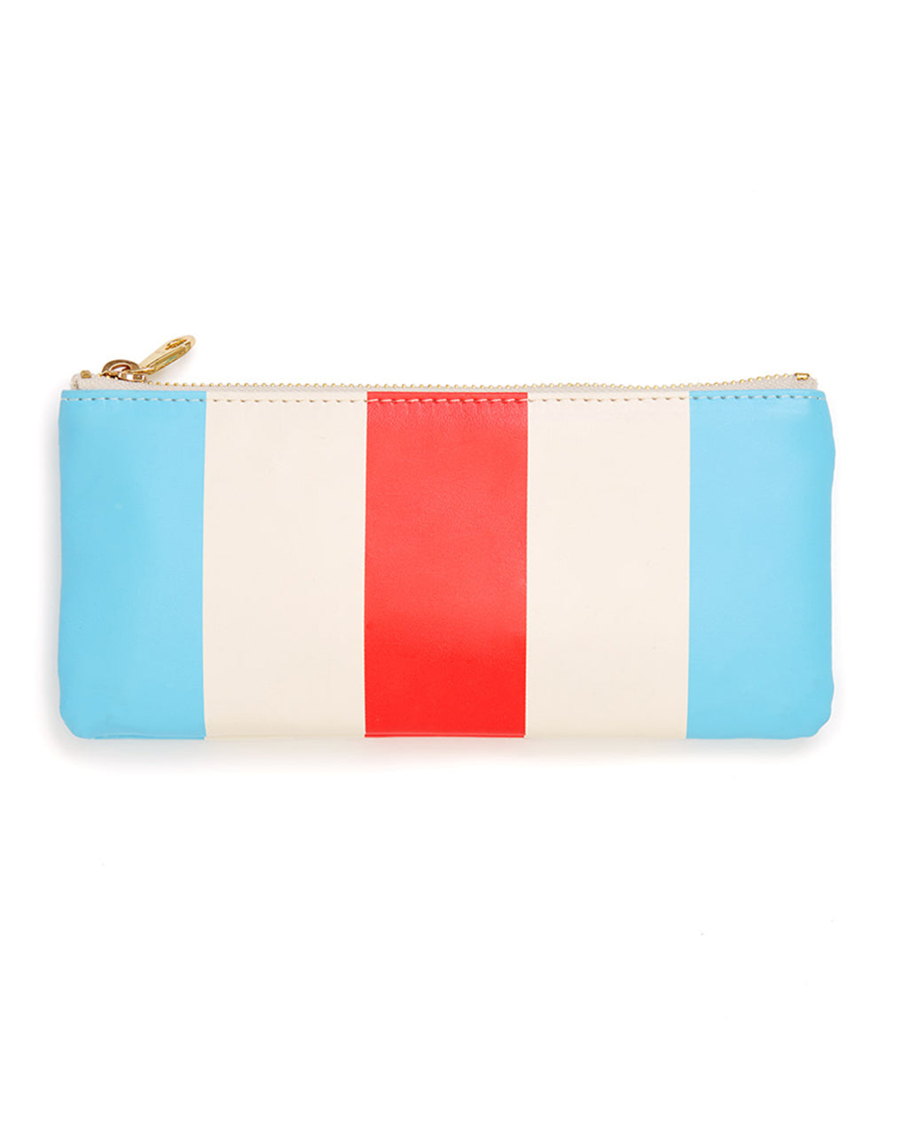 get it together pencil pouch - national stripe