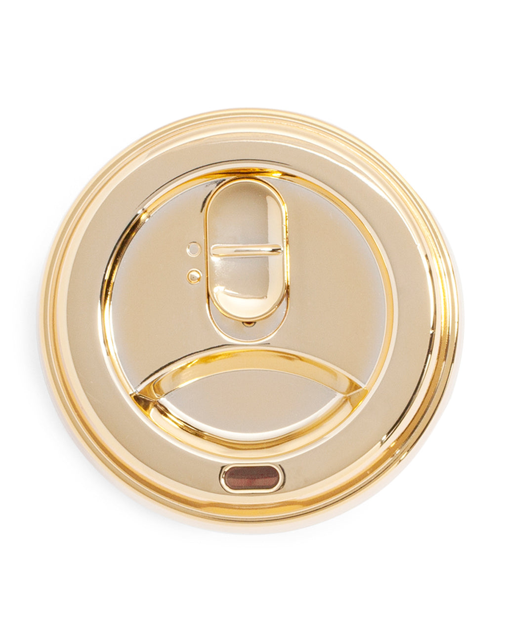 metallic gold lid
