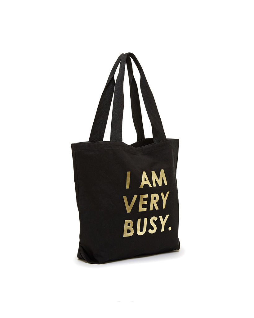 Canvas Tote - I Am Very Busy