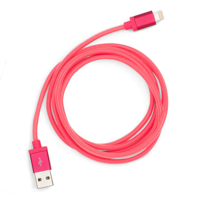 Charging Cord - Back Me Up! Charging Cord - Neon Pink
