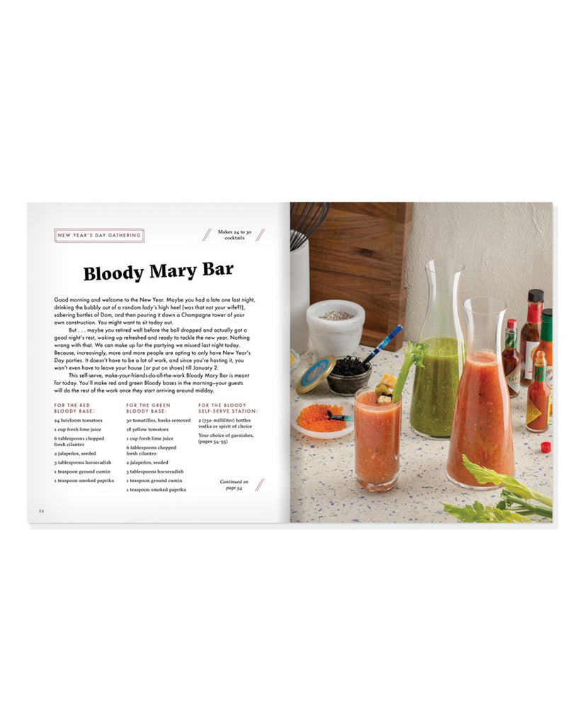 cocktail book recipe offered in book