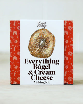 Everything Bagel and Cream Cheese Making Kit