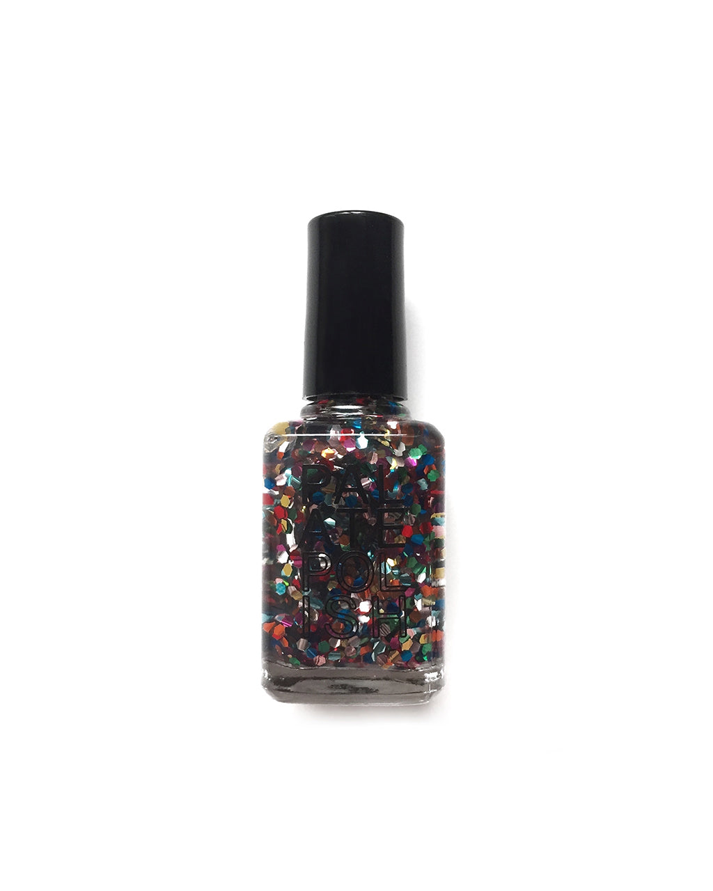 confetti multi colored nail polish