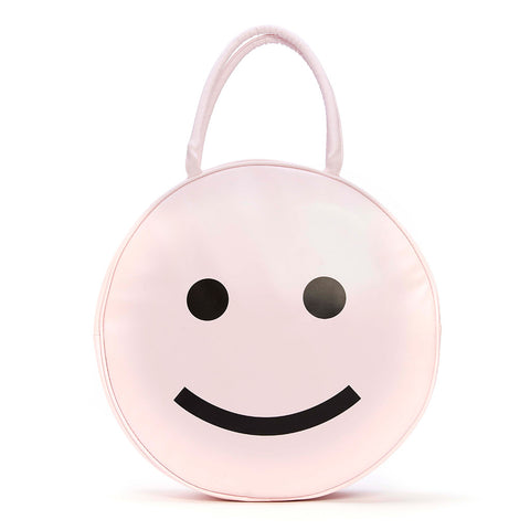 super chill cooler bag - happy face