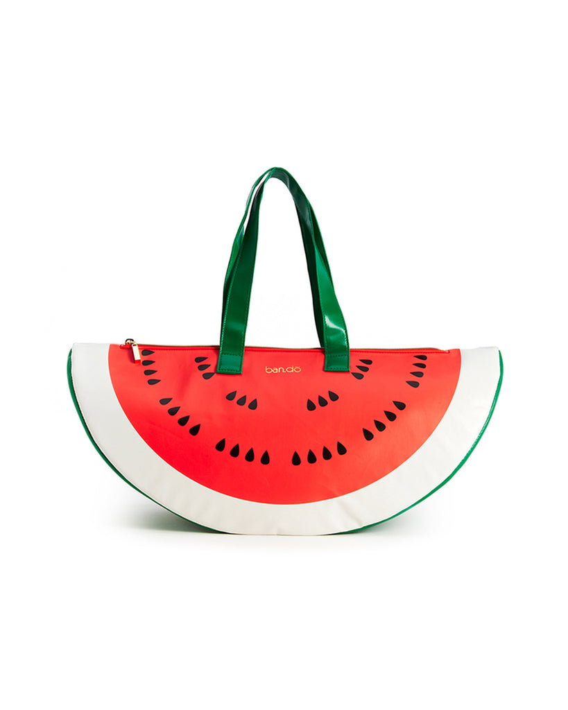 watermelon shaped cooler bag