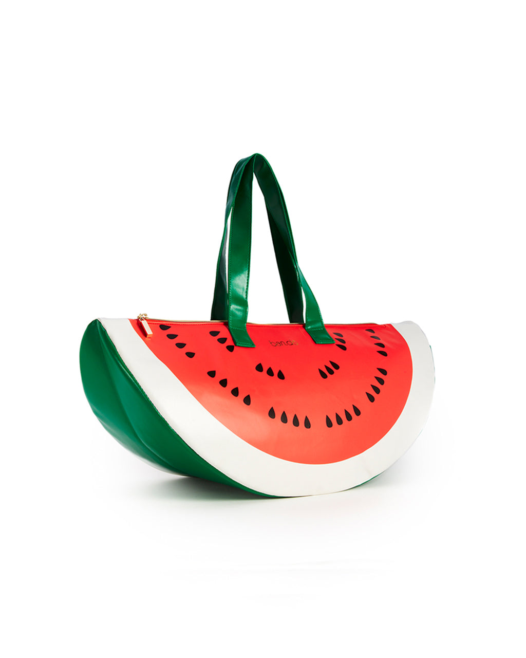 side view of watermelon cooler bag