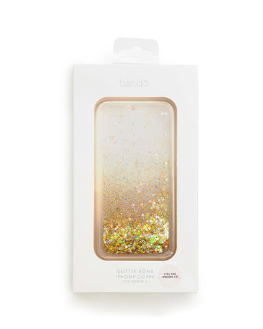 glitter bomb iPhone 6 plus case - clear