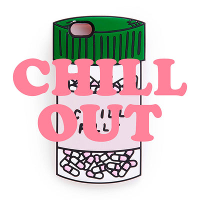 Iphone Case - Chill Pills Silicone IPhone Case
