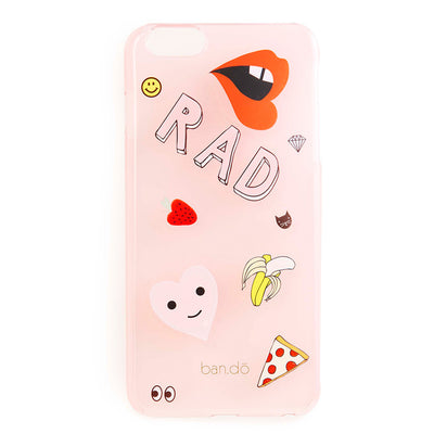 Iphone Case - Peekaboo IPhone 6 Plus Case With Stickers - Translucent Blush