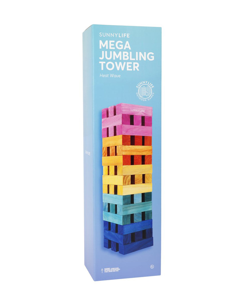mega tower blocks shown in packaging
