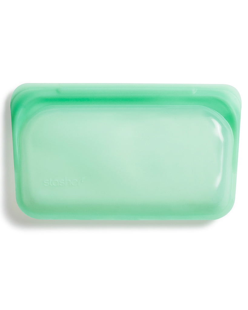 mint colored snack stasher bag