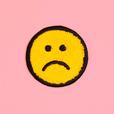 Patch - Frown Face Patch