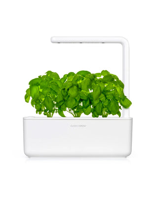click and grow smart garden in white